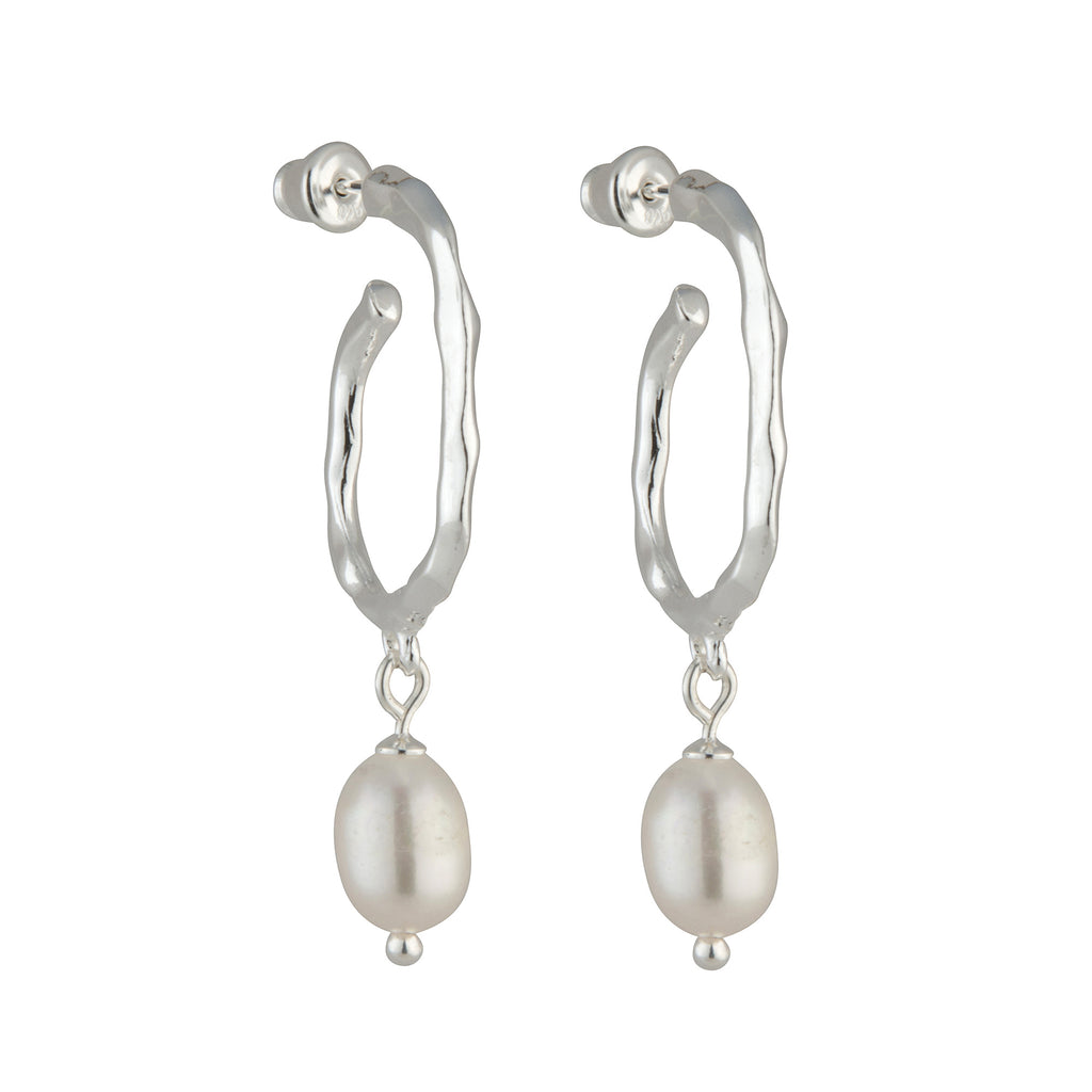 The 'Paris' Pearl Earrings