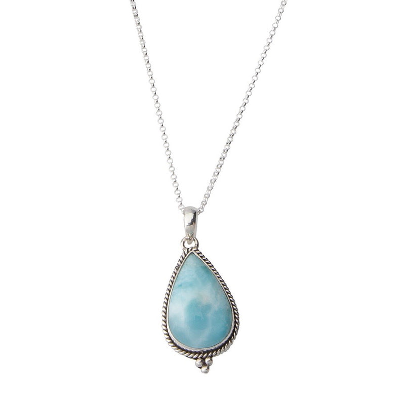 Larimar Stone Necklace