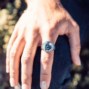Men's Ship Ring