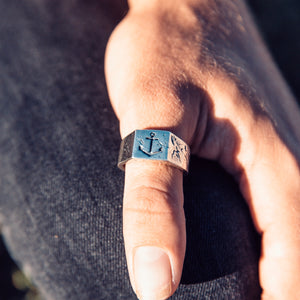 Men's Anchor Ring