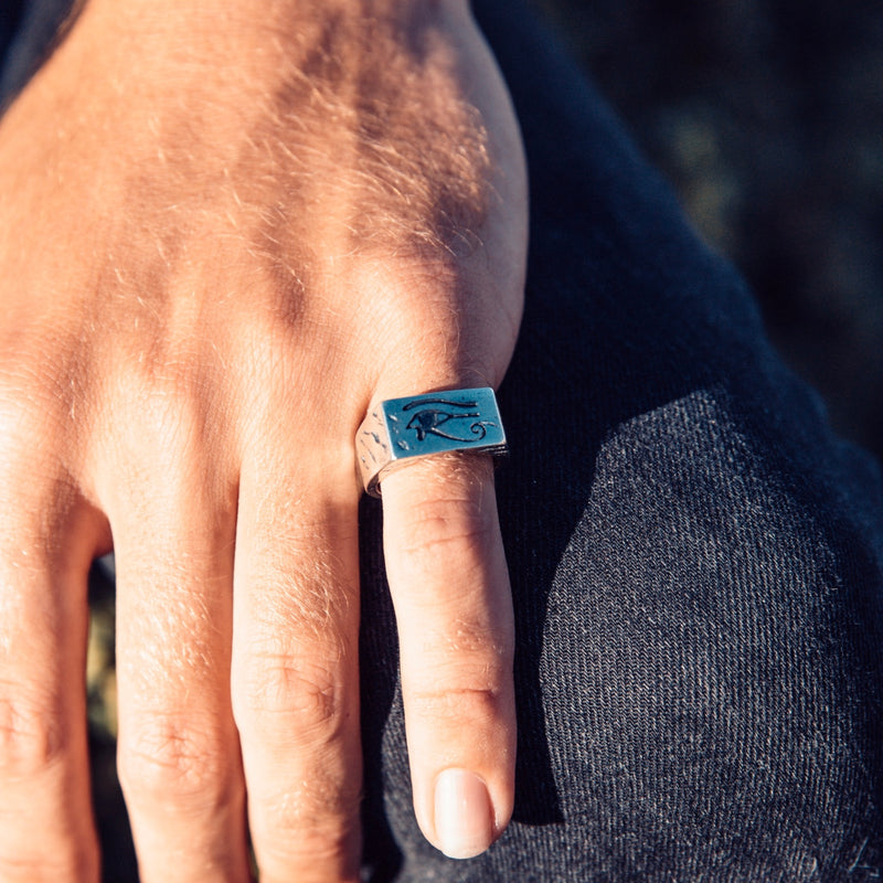Men's Egyptian Eye Ring