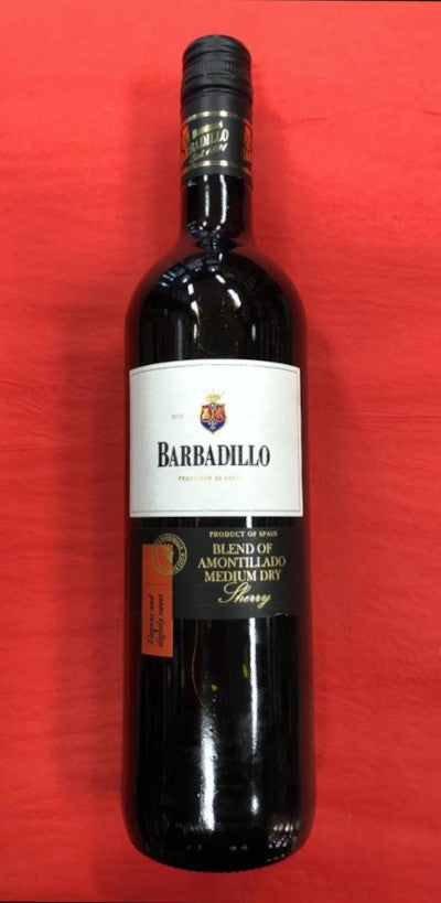 ANTONIO BARBADILLO AMONTILLADO MEDIUM DRY - Vino Wines