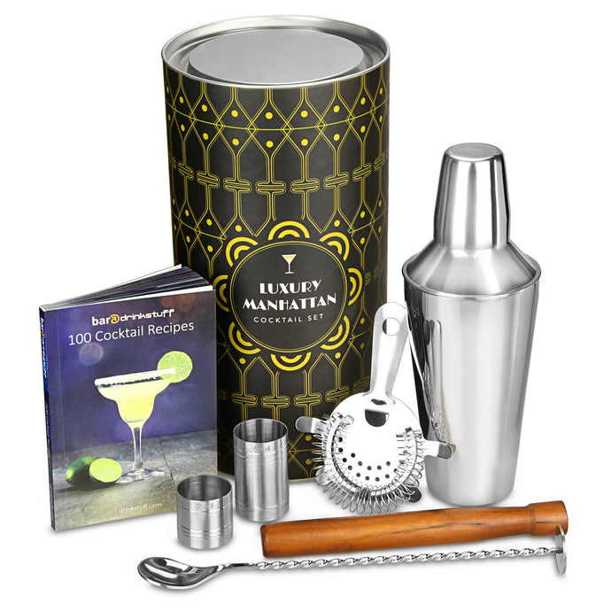 LUXURY MANHATTAN COCKTAIL SHAKER GIFT SET - Vino Wines