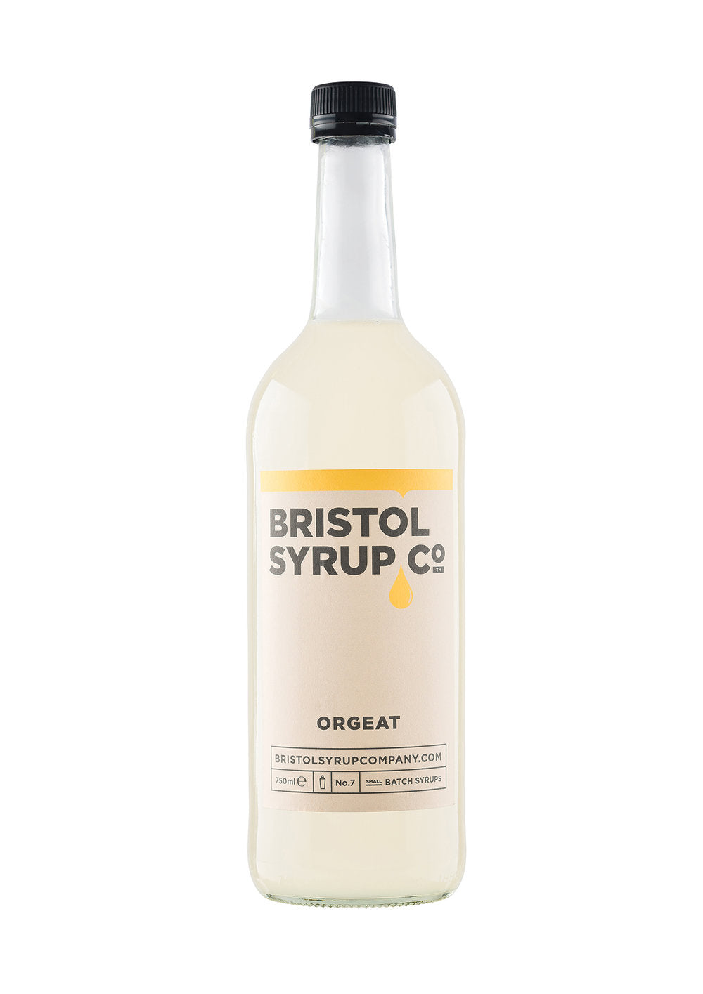BRISTOL SYRUP CO. ORGEAT SYRUP 750ML - Vino Wines