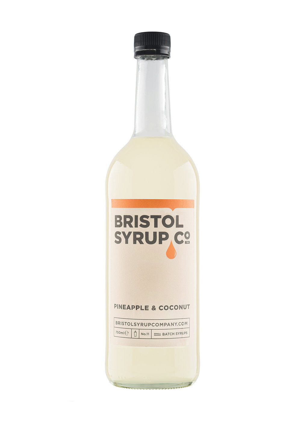 BRISTOL SYRUP CO. PINEAPPLE & COCONUT SYRUP 750ML - Vino Wines