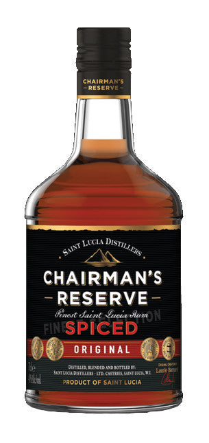 CHAIRMAN'S RESERVED SPICED RUM 70CL - Vino Wines
