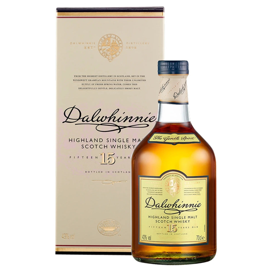 DALWHINNIE 15YO HIGHLAND MALT - Vino Wines