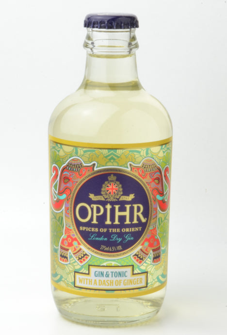 OPIHR GIN AND TONIC WITH A TWIST OF GINGER 275ML