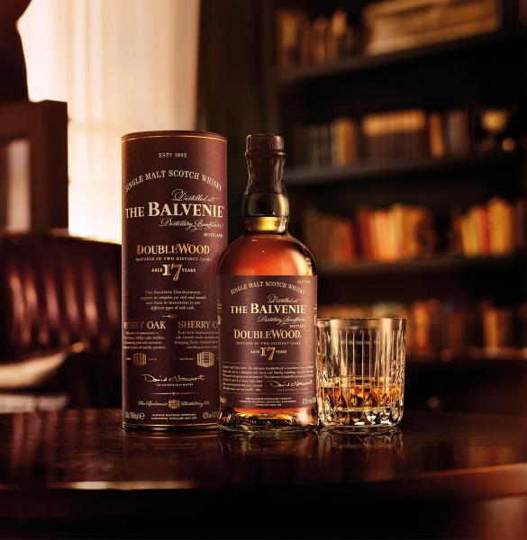 BALVENIE 17YO DOUBLE WOOD SPEYSIDE MALT - Vino Wines