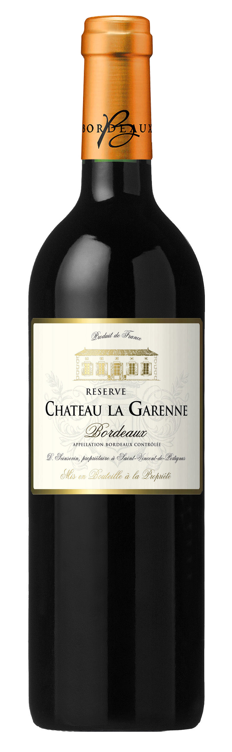 CHATEAU LA GARENNE BORDEAUX ROUGE - Vino Wines