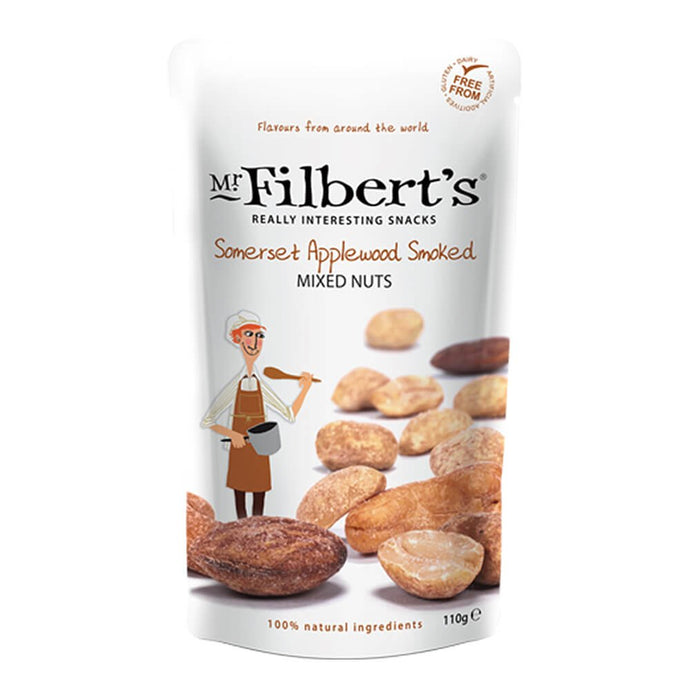 FILBERT SOMMERSET APPLEWOOD SMOKED MIXED NUTS 110G - Vino Wines