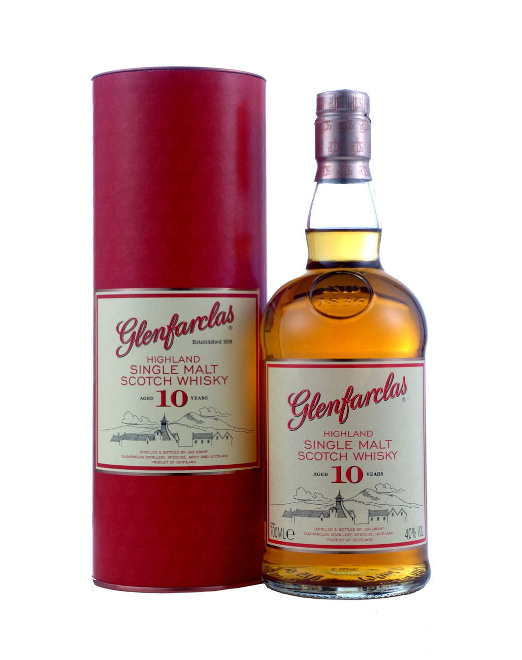 GLENFARCLAS 10 YEAR OLD 70CL - Vino Wines