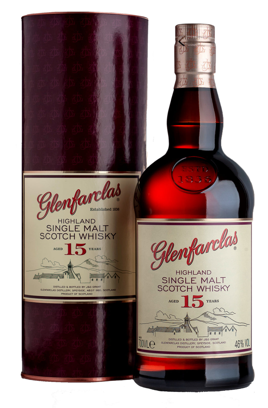 GLENFARCLAS 15 YEAR OLD 70CL - Vino Wines