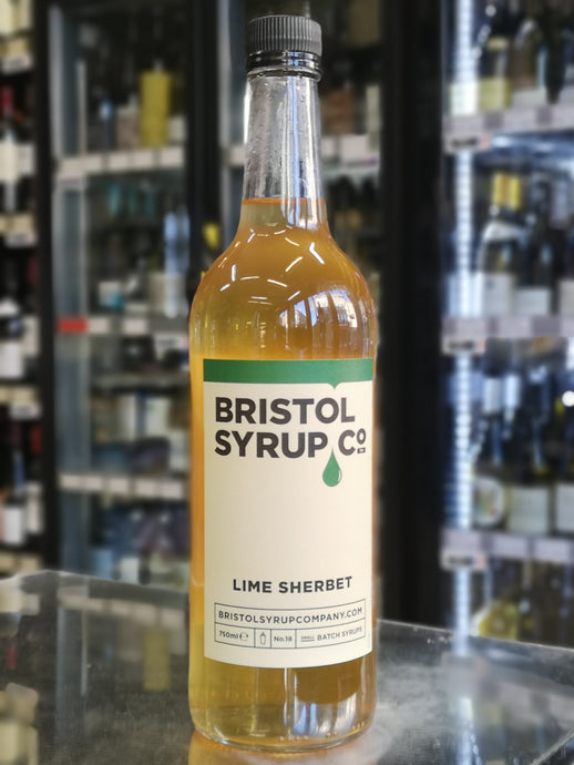 BRISTOL SYRUP CO. LIME SHERBET SYRUP 750ML - Vino Wines