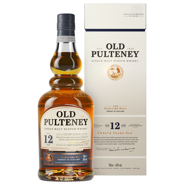 OLD PULTENEY 12YO HIGHLAND MALT - Vino Wines