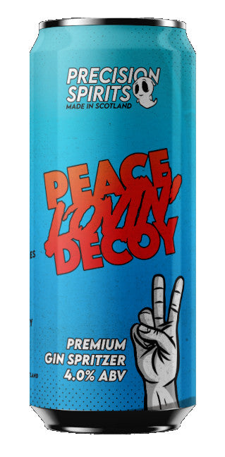 PEACE LOVIN' DECOY GIN SELTZER 250ML - Vino Wines