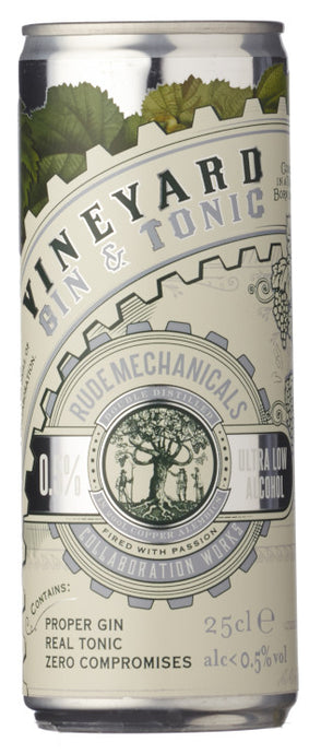 RUDE MECHANICAL ULTRA LOW GIN & TONIC 25CL - Vino Wines