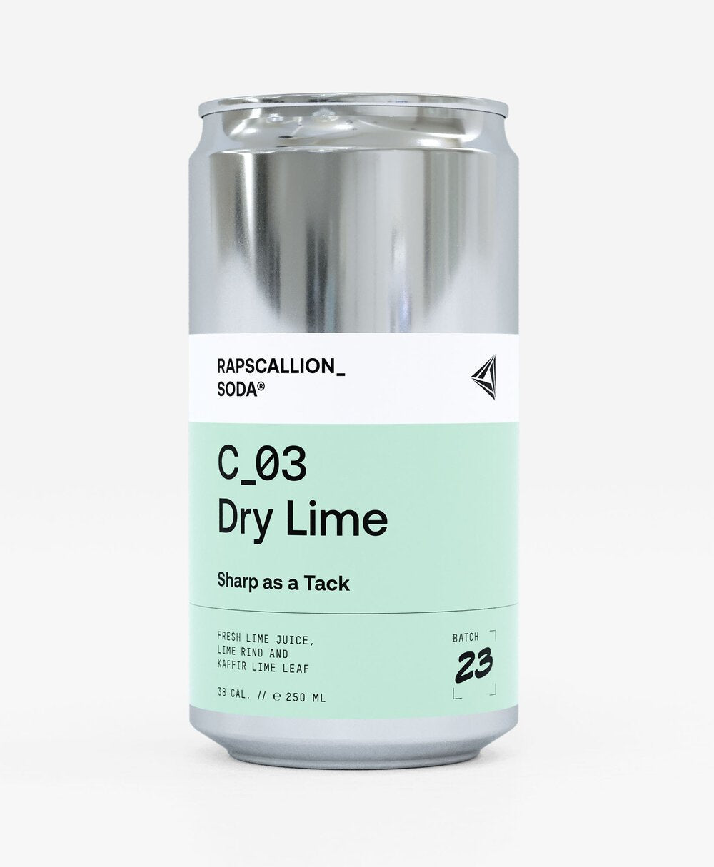 RAPSCALLION DRY LIME 250ML