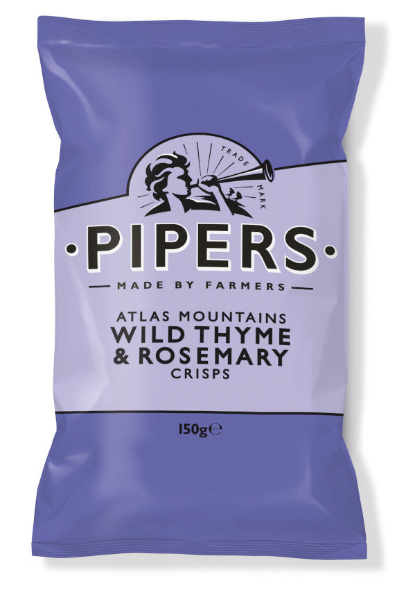 PIPERS ATLAS MOUNTAINS WILD THYME & ROSEMARY 150G - Vino Wines