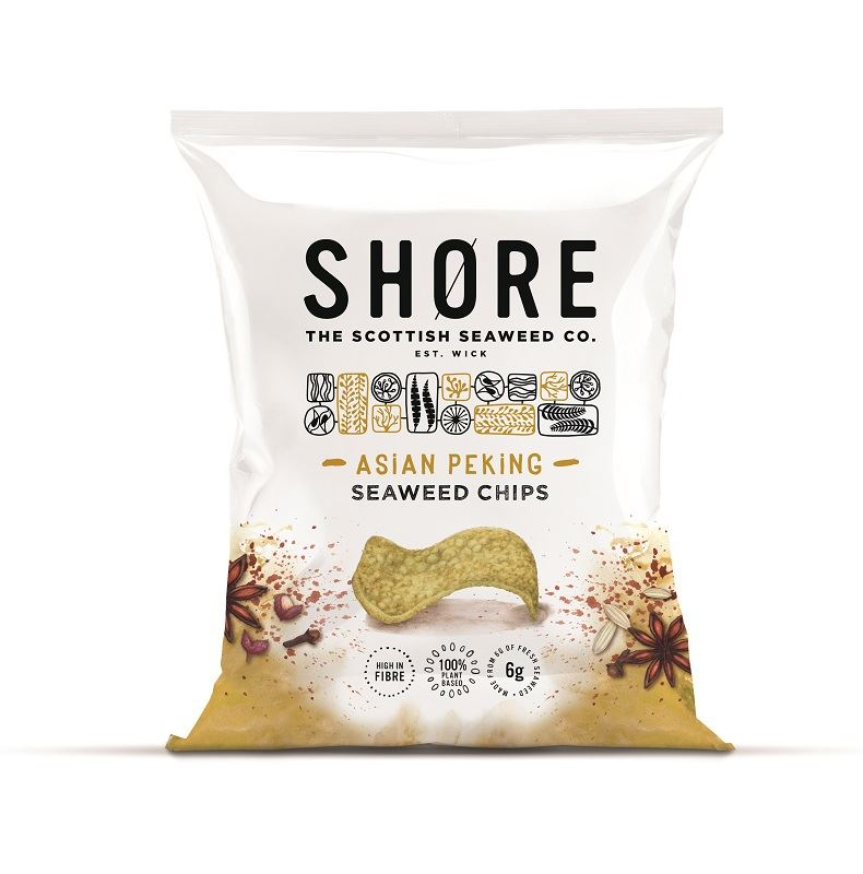 SHORE SEAWEED CRISPS AROMATIC PEKING FLAVOUR 30G - Vino Wines