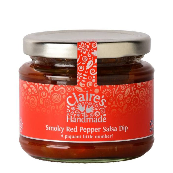 CLAIRE'S HANDMADE SMOKY RED PEPPER SALSA DIP 200G - Vino Wines