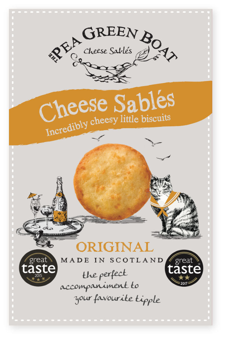 CHEESE SABLES ORIGINAL 80G - Vino Wines