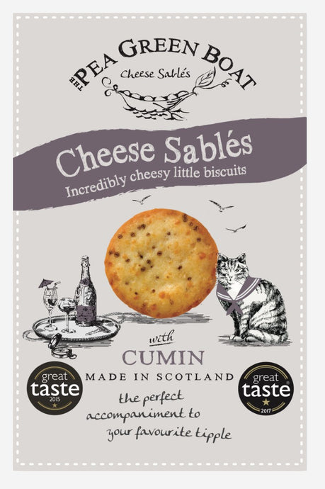 CHEESE SABLES WITH CUMIN 80G - Vino Wines