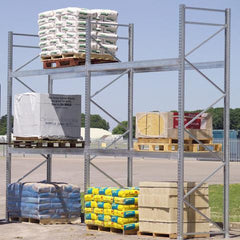 Galvanised Pallet Racking>                    <img src=
