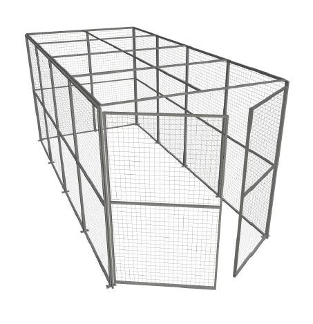 Indoor Use Four Sided Security Cage 2.44m High x 2.44m Wide