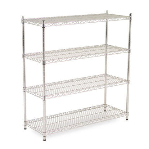 Chrome Shelving 1.9m High x 1.8m Wide