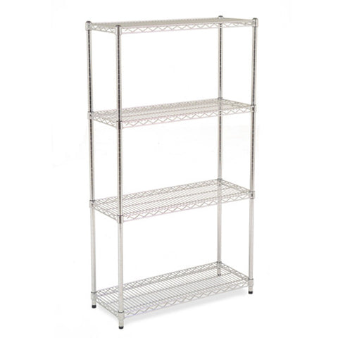 Chrome Shelving 1.9m High x 0.9m Wide