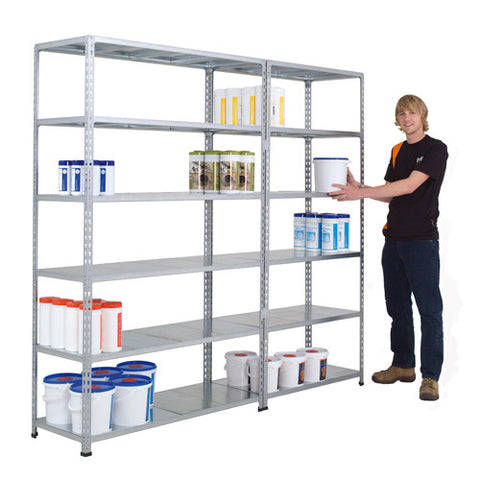 Fully Galvanised Shelving