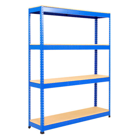 1.2m Wide with 4 Chipboard Levels - Heavy Duty Shelving Bay