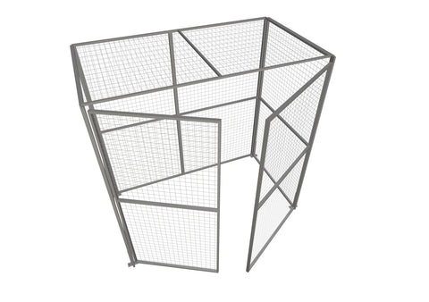 Outdoor Modular Security Cages