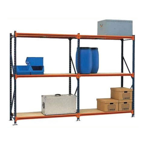 Second Hand Mecalux Longspan Shelving 1.83m Wide - Complete Bays