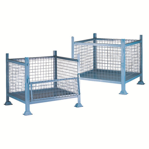 Steel Stillages - Mesh Sides