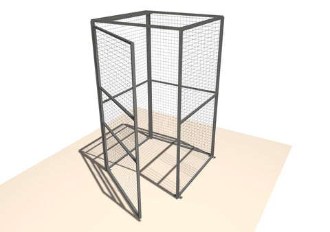 Mini Outdoor Modular Security Cages
