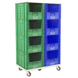 Mobile Stacking Storage Container Bays