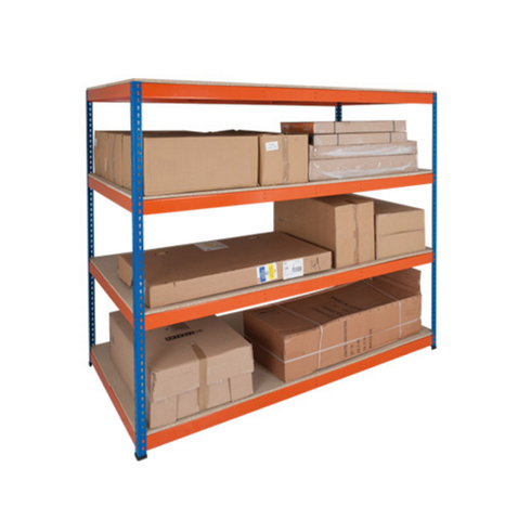 2.4m Wide - Heavy Duty Shelving Bay