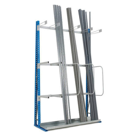 Vertical Storage Rack Add-on Bays - Single Sided