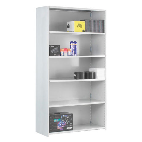 DUO Add On Bay - Closed Back 6 Shelves