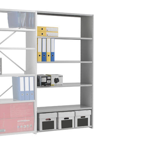 DUO Add On Bay - Open Back 6 Shelves