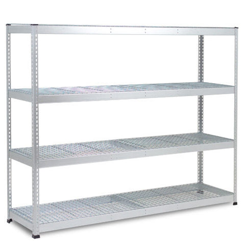 RSS 1 Galvanised Bay - 4 Wire Deck Levels