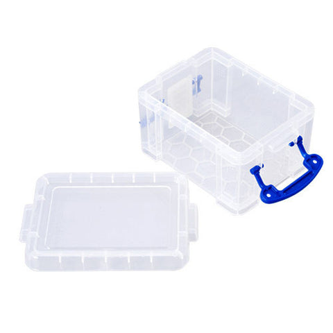 Really Useful Box 0.3ltr Clear pack of 16