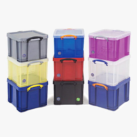 Really Useful Box 35ltr Clear