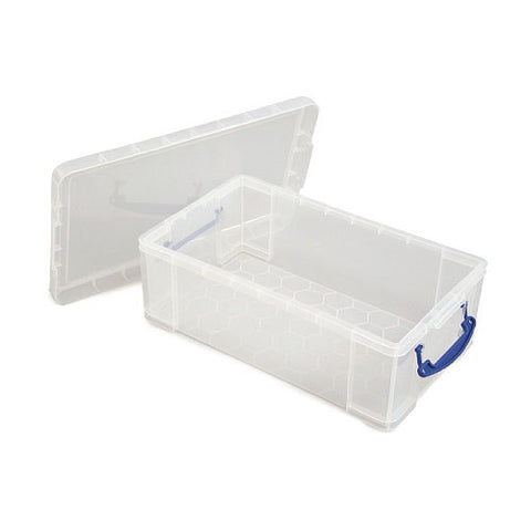Really Useful Box 9ltr Clear pack of 2