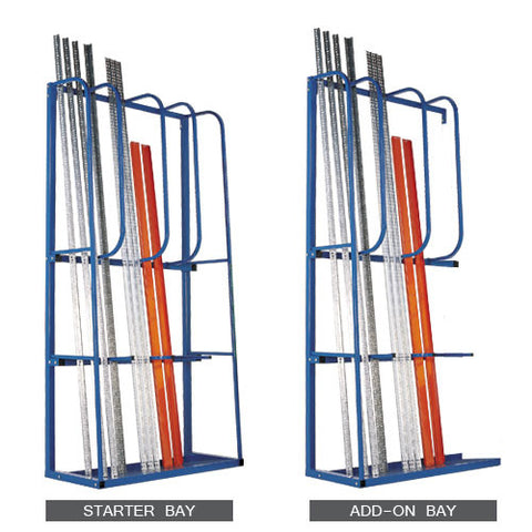 RSS Vertirack Extension Rack 1500mmh x 1300mmw x 550mmd