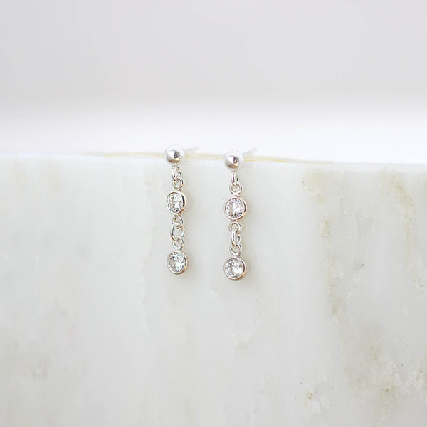 Vrai Earrings Silver