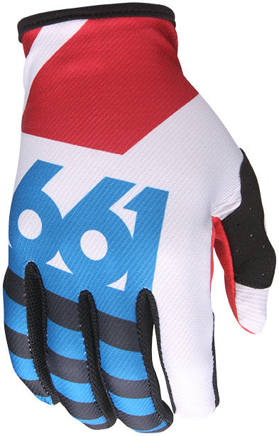 YOUTH COMP LINES GLOVE RED