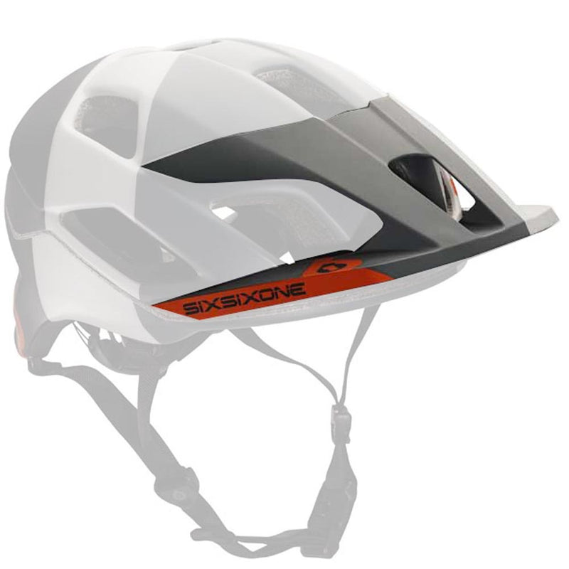 EVO AM TRES VISOR GRAY OS